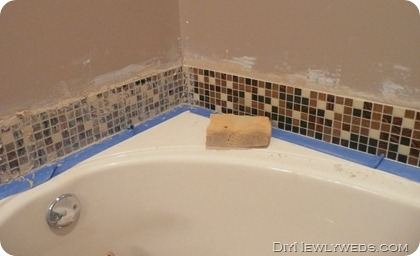 grouting-bath-tub