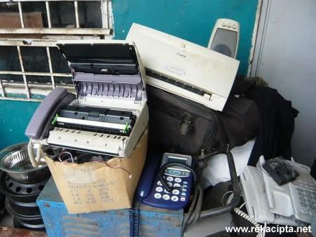 Rekacipta.net - Bahan terbuang - mesin faks pencetak