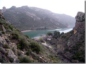 vista del llac