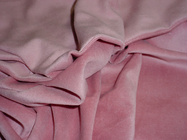 Dusty Rose Velour