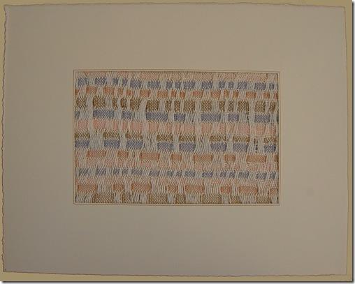 honeycomb weaving framed
