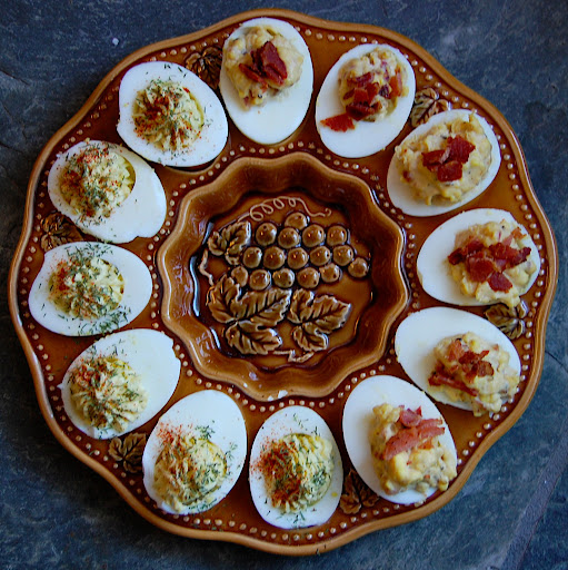 ... and instructions bacon balsamic deviled eggs savory deviled