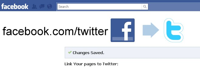 how to connect my twitter to my facebook page