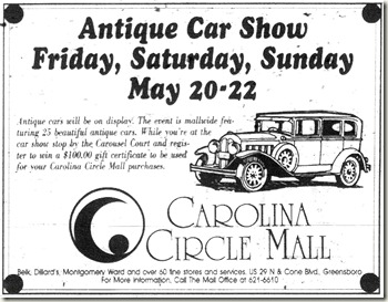 Antique Car Show May 1994