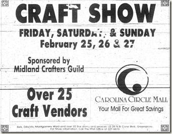 Craft Show February 1994