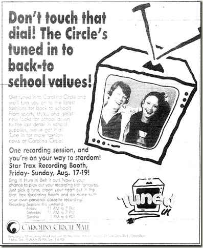 Back to School August 15, 1990