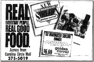 Golden Corral January 1992