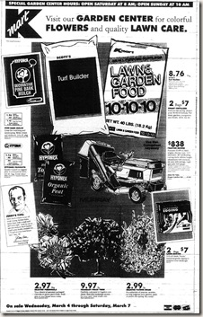 Kmart Ad March 4, 1992