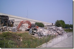 Carolina Circle Mall During Demolition 011