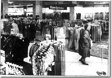 Inside Montgomery Ward 1989