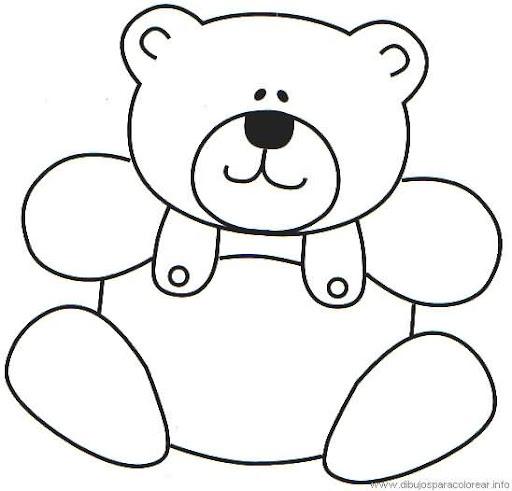 Dibujos de osos para pintar y colorear de la serie de colorear ...