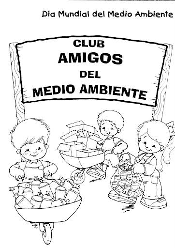 COLOREAR DIBUJOS DEL MEDIO AMBIENTE