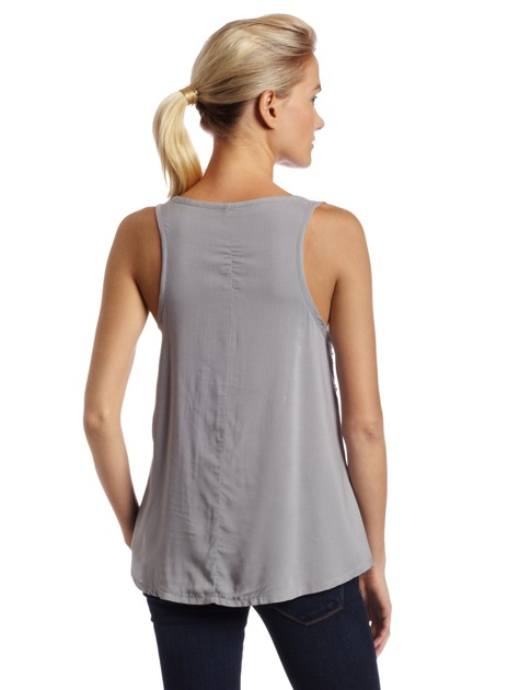 Patterson J. Kincaid Womens Embellished Greenwich Tank
