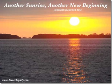 sunrise-beginning