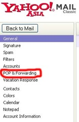 pop and forwarding