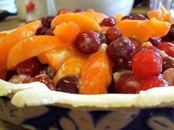 Sour Cherry Apricot Pie