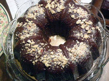 Hazelnut Cake