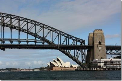 Harbor Bridge from ferry