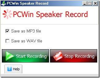 PCWinSpeakerRecord