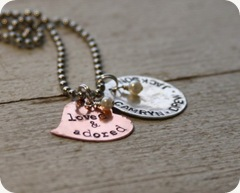 Loved by Necklace