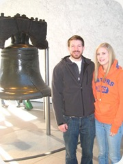 Brock & Leah at Liberty Bell
