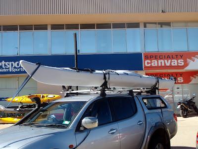 Kayak fishing down under view topic prijon kodiak sea for Best fishing kayak under 400