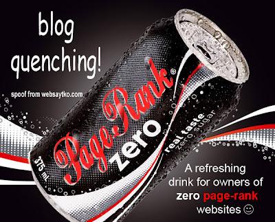 page rank zero cola