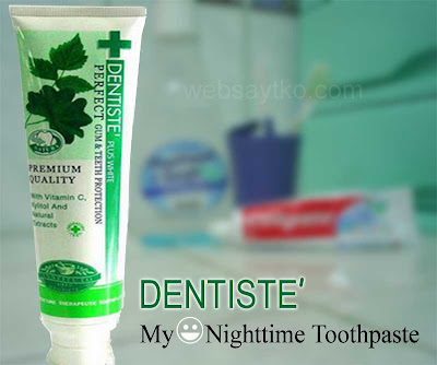 nighttime toothpaste