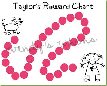 Taylor Reward Chart-001