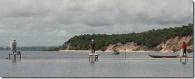 Pesca em plataforma