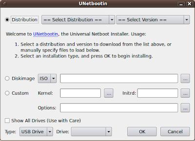 Unetbootin บน Linux
