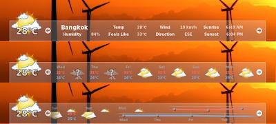 Docky Weather