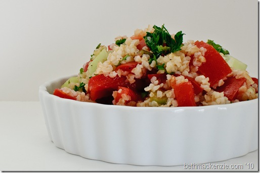 bulgur, parsley and tomato-0014