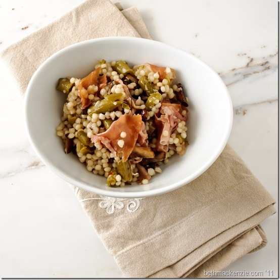 mushroom bean couscous19