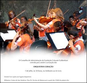 Orquestras geração