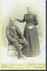 John P & Carrie Anderson Swanson