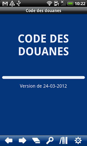 French Customs Code