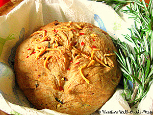 Rosemary Cheddar Bread