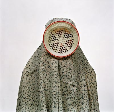 Shadi Ghadirian - Like Everyday (Domestic life) 08, 2002, C-print, 50 x 50 cm