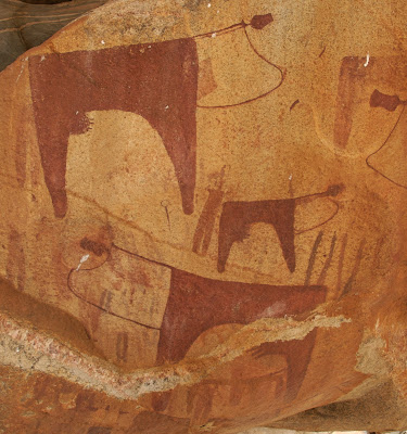 laas gaal rock art in somaliland