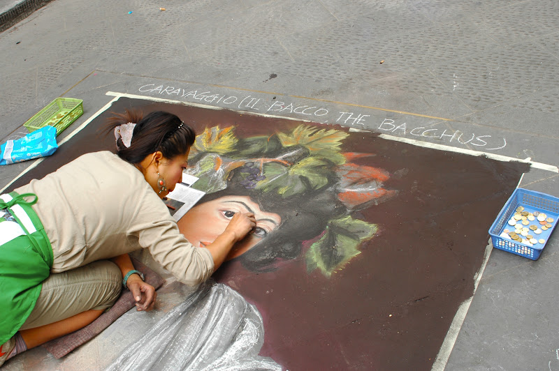 Photo Of The Day: Chalk Art In Florence
