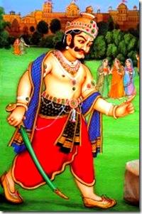 Ravana - leader of the Rakshasas