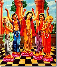 Panchatattva - preachers of Krishna consciousness
