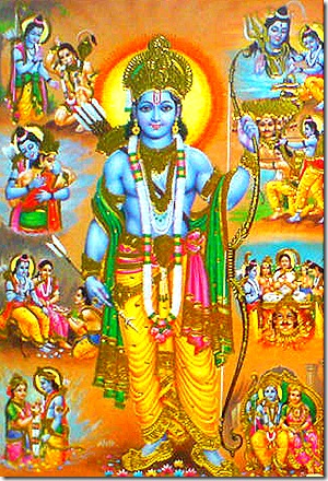 Events of Lord Rama's life