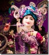 Krishna as Dwarakadish - the king of Dwaraka