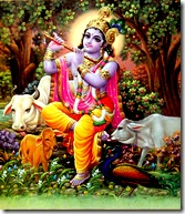 Govinda - protector of cows
