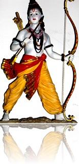 Deity of Lord Rama