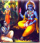 Krishna and Uddhava