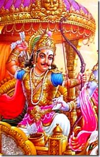 Arjuna - a great warrior