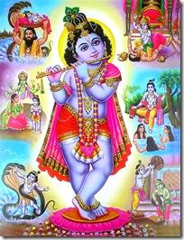 Krishna's activities